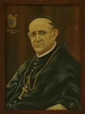 Retrato de Dom Athanazio (Foto: Reprodução/TV TEM)