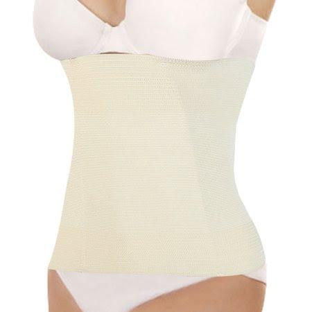 Women's Underbust Belt Waist Girdle Body Control Shaper Cincher Corset Beige (Size S \/ 4)