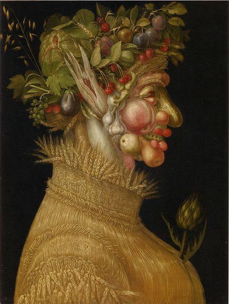 G. Arcimboldo, Verão, 1563