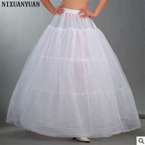 Wholesale 3 Hoop Petticoat Underskirt For Ball Gown