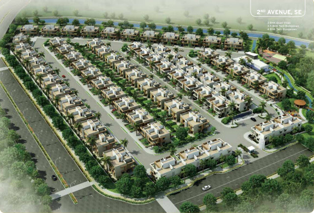 Villas - 2nd Avenue Layout Plan - Life Republic