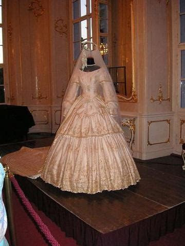 Empress Elisabeth's wedding dress (location unknown to