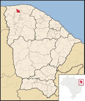 Localização de Martinópole
