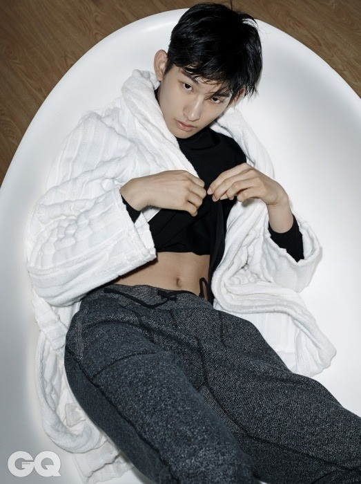 Park Hyeong Seop - GQ Magazine January Issue '15