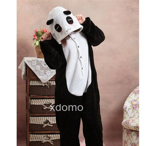 kigurumi panda pajamas  women men girls boys adult