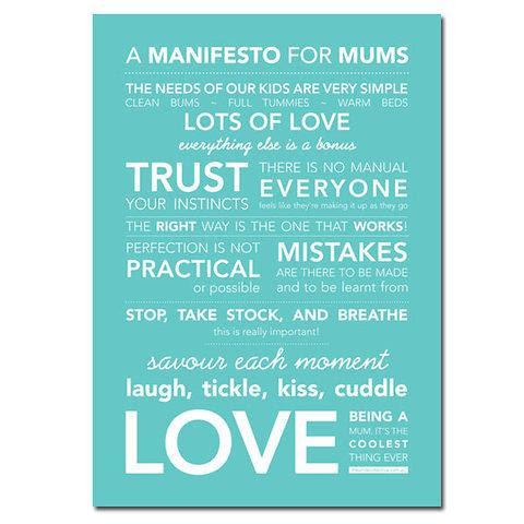 mommy manifesto via little lovely