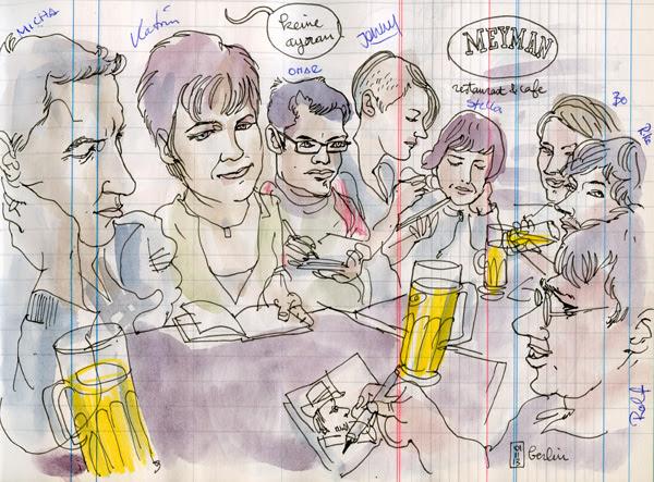 urban sketchers berlin