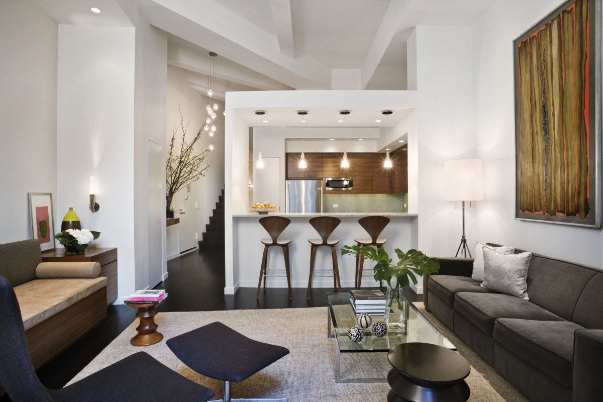 Loft Style Apartment Design In New York | iDesignArch | Interior