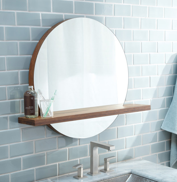 Framed Bathroom Mirrors Australia tempest designer led bathroom mirror with shelf main image