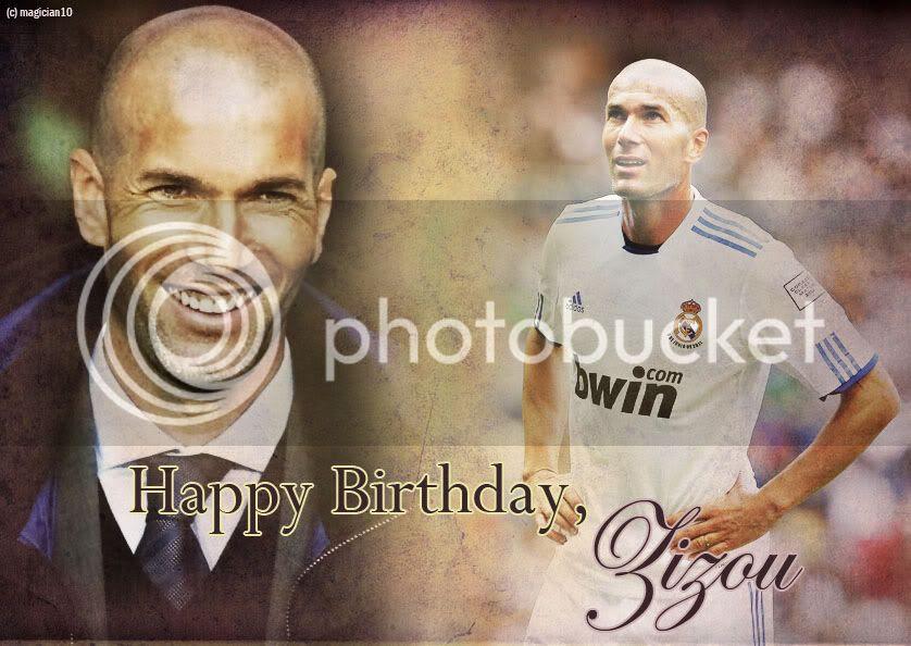 اليوم : عيد ميلاد المدرب الفرنسي زين الدين زيدان