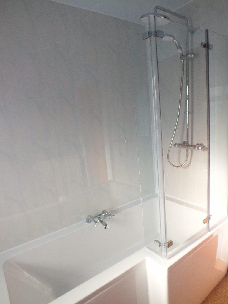 bathroom tile backsplash height