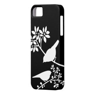 Black and White Birds Custom iPhone Case iPhone 5 Covers