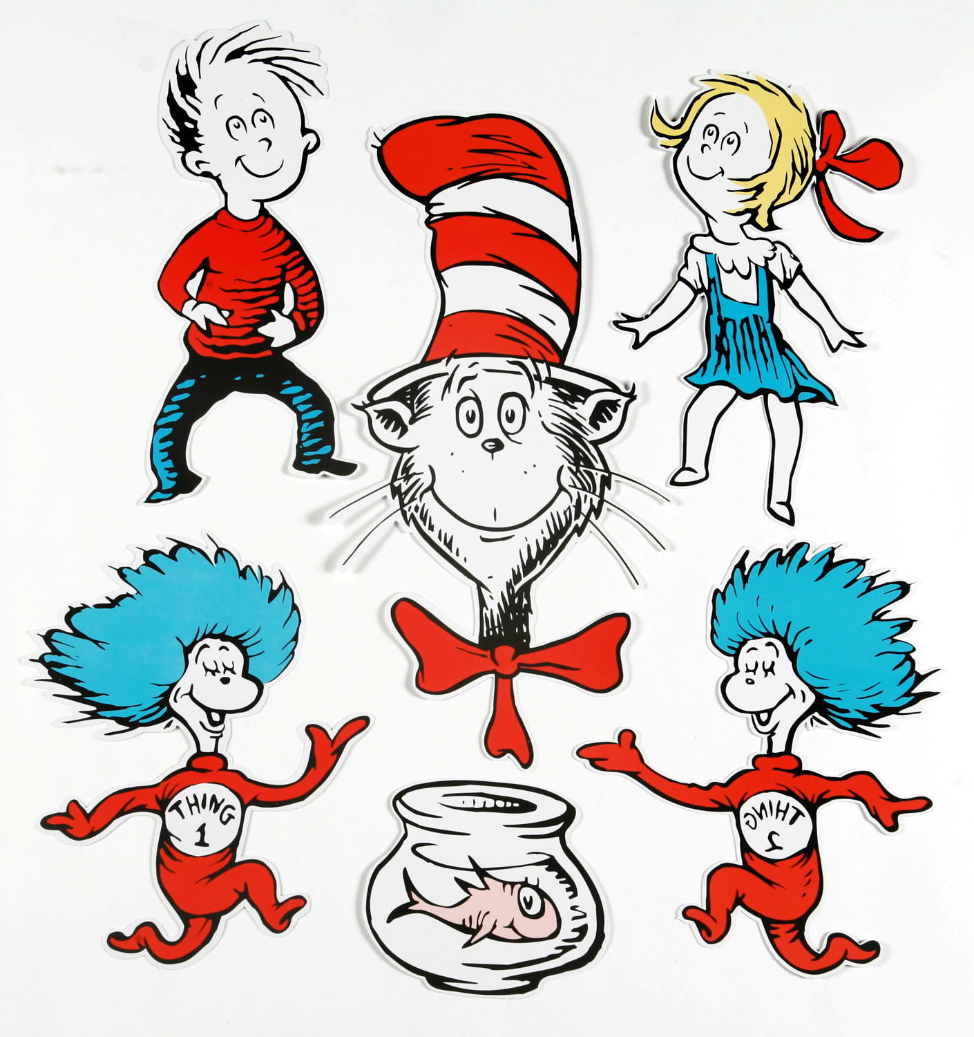 cat in the hat dr seuss clipart free