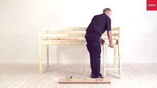 Flexa Etagenbett Montageanleitung : Möbel für zuhause flexa hochbett montageanleitung