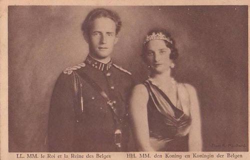 König Leopold III. und Königin Astrid von Belgien, King and Queen of Belgium