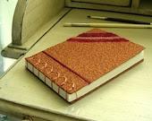 Copper Sketch Book - machine embroidery - original design - ValSainsbury