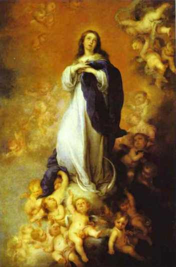 Bartolome Esteban Murillo: Niepokalana Maryja
