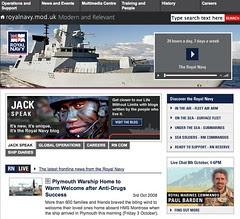 UK Royal Navy website