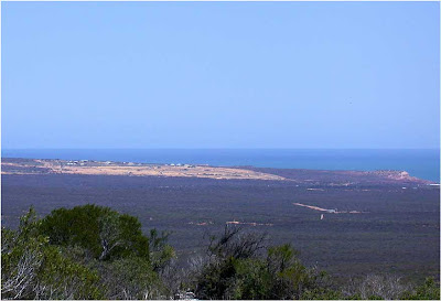 Clearing for development at Kalbarri