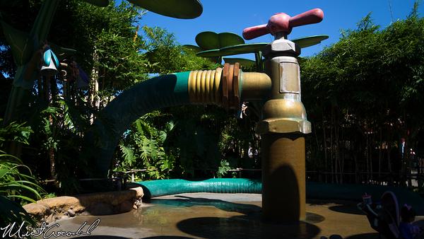 Disneyland Resort, Disney California Adventure, Bug's Land, Water