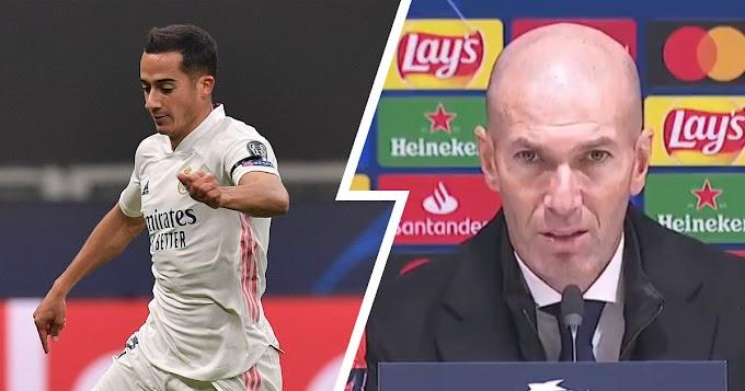 Zinedine Zidane hopeful of Lucas Vazquez's Real Madrid contract renewal