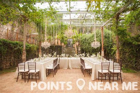 wedding venues   points