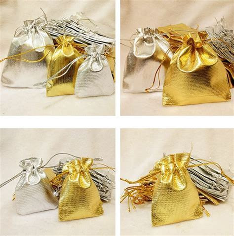 Wholesale Organza Wedding Party Favor Candy Bag Jewelry