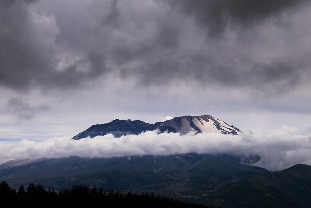 Summer Day on Mount St. Helens