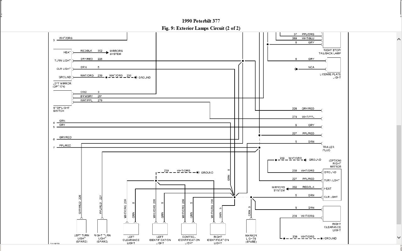 Peterbilt 379 Headlight Wiring Diagram