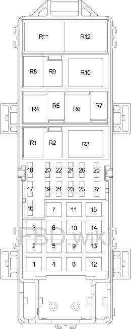 97 06 Jeep Wrangler Tj Fuse Box Diagram