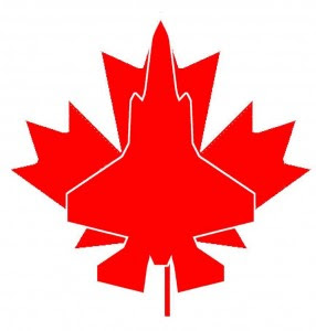 F35-Drapeau canadien-