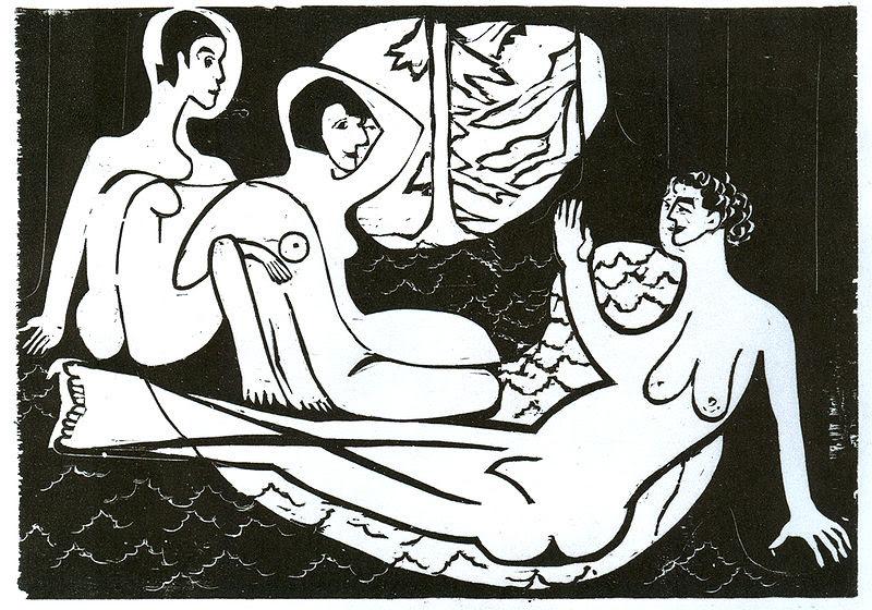 File:Ernst Ludwig Kirchner - Drei Akte im Walde - 1933.jpg