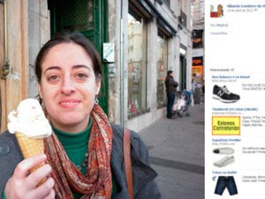 Estudante encontrada morta em Madrid Gláucia (Foto: Reprodução/Facebook)