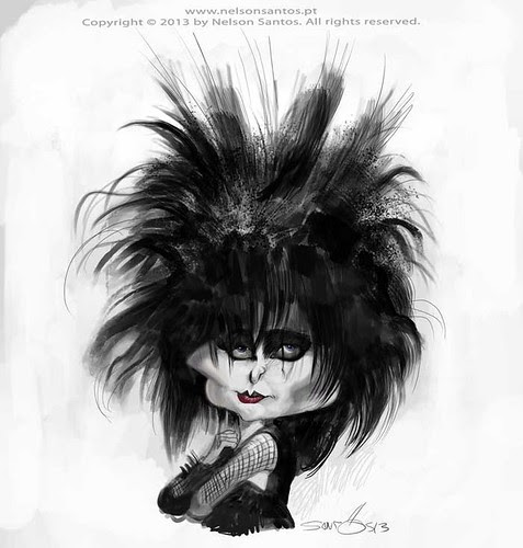 Siouxsie-Sioux by caricaturas
