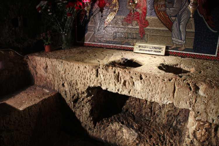 via dolorosa hasta el santo sepulcro en jerusalen