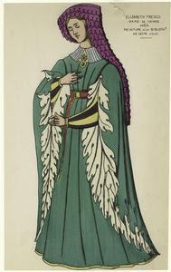 Elisabeth Fresco dame de Venis... Digital ID: 811009. New York Public Library