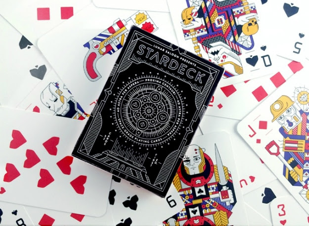 STARDECK Is The Geekiest Space-Grade Playing Cards To Date