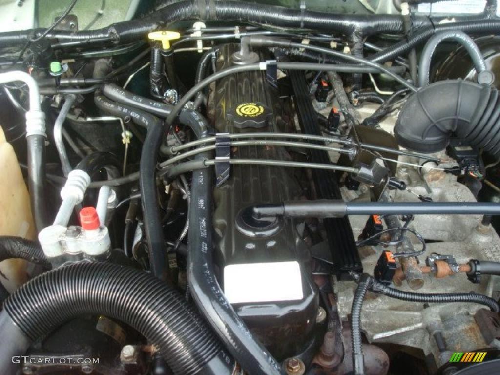 1998 Jeep Cherokee Sport 4x4 4.0 Liter OHV 12-Valve Inline ...