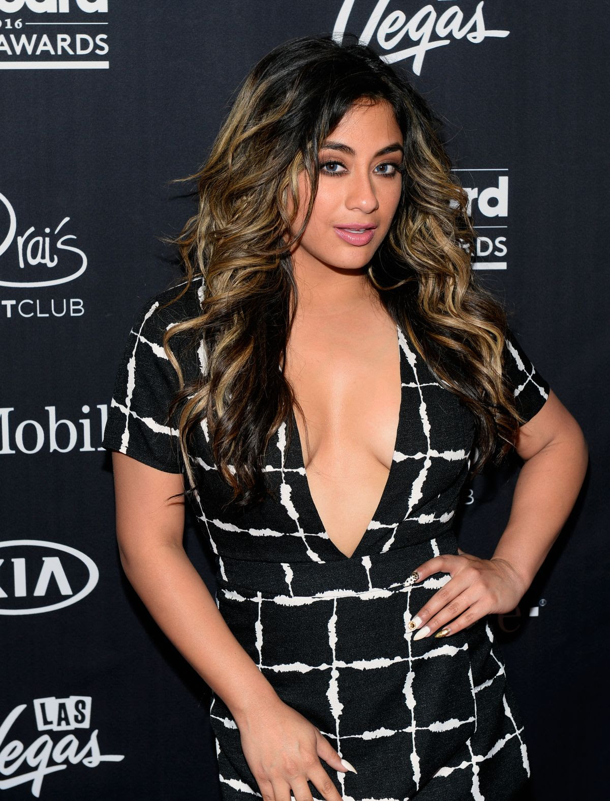 ALLY BROOKE at 2016 Billboard Music Awards After-party 05/22/2016