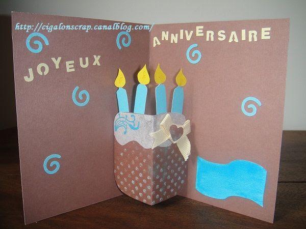 Carte D'anniversaire Pop Up | tasyafiolarara web