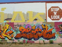 Stop 'n' Lock Graffiti Wall, 2008.06.28