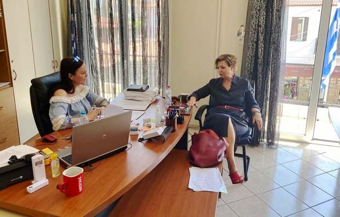 Άρτα: Συνάντηση Βαβέτση–Γεροβασίλη για ζητήματα που αφορούν το Δήμο Νικ. Σκουφά