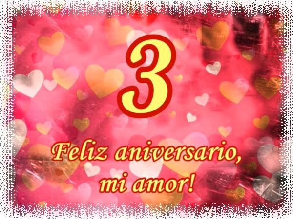 Tarjeta 3 Anos De Matrimonio Bodas De Cuero Feliz Aniversario Mi