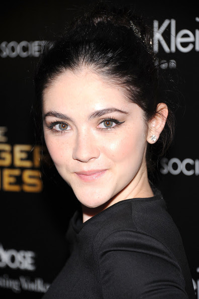 """Isabelle Fuhrman Actress Isabelle Fuhrman attends the Cinema Society & Calvin Klein Collection screening of """"The Hunger Games"""" at SVA Theatre on March 20, 2012 in New York City."""