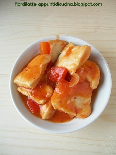 Bocconcini di pollo piccanti - Spicy chicken delicacies