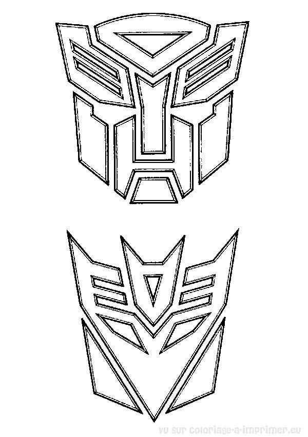 Coloriage à Imprimer Coloriage Transformers 020