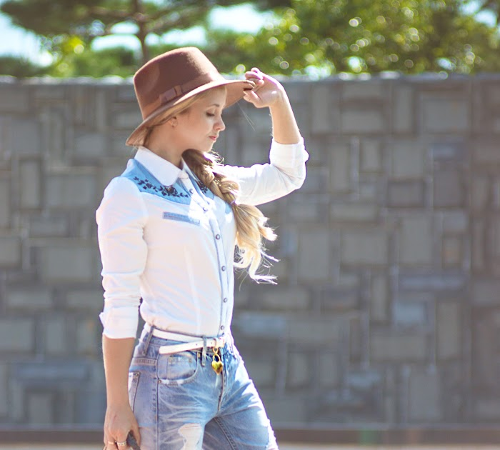 Wild West: cowboy shirt - My Blonde Gal