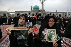 Iranian women attending a speech by Iran's Supreme Leader Ali Khamenei. (Iranian government photo)