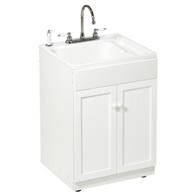 Shop ASB All-in-One Utility Sink/Cabinet Kit at Lowes.