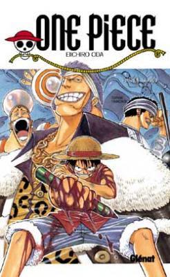 Couverture One Piece, tome 08 : Je ne vais pas mourir